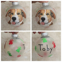 They are $35 per ornament (one dog) and $15 per extra pet.