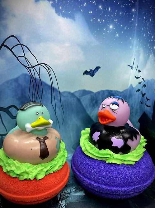 Halloween Ducky Donut Bath Bomb