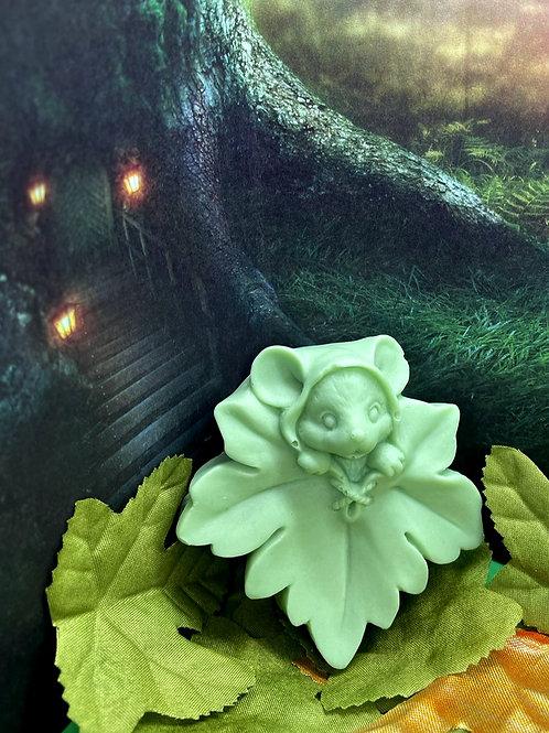 Sherwood Forest Mouse Leaf Soap