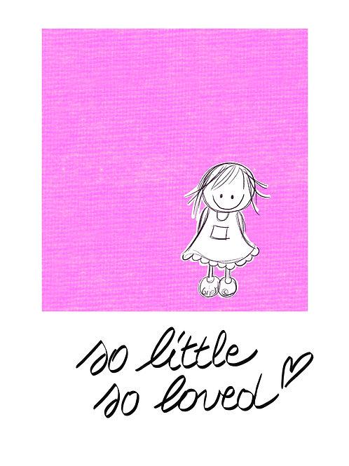 So little, so loved (Baby Rutje)
