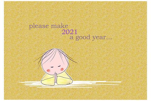Please make 2021 a good year