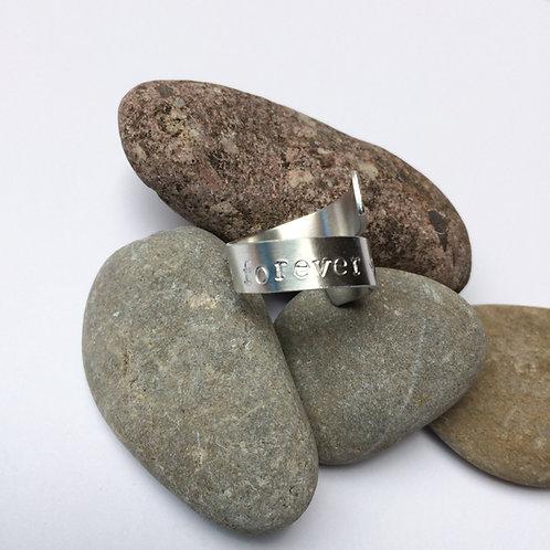 Ring overlappend - Aluminium