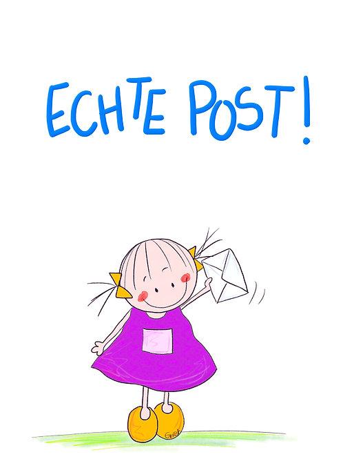 Echte post