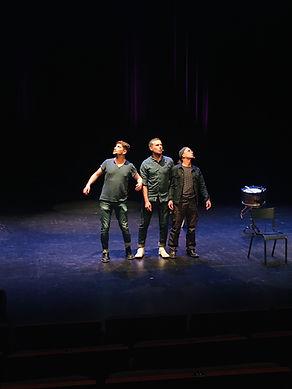 Rimes Party .Jac Livenais, Francois Marsat, Quentin Juillard