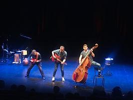 Rimes Party .Jac Livenais, François Marsat, Quentin Juillard.