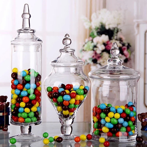 糖菓手造玻璃瓶 Hand-made Candy Jar