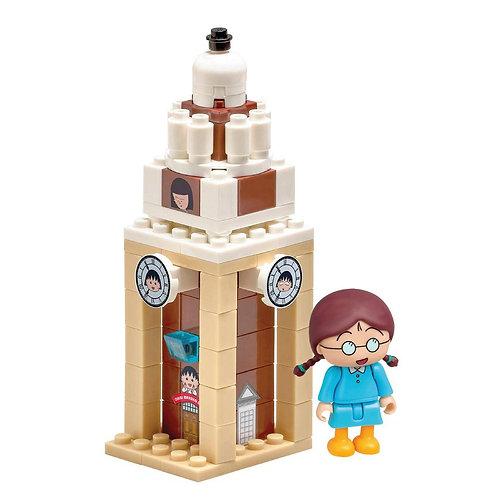 【香港限定玩具】小玉鐘樓 限量版小丸子生活地標小情景 Maruko Puzzle