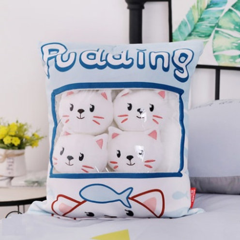 Plush Toys Claw Machine - White Cat Small Size 白貓拳頭尺寸 (10 pieces)