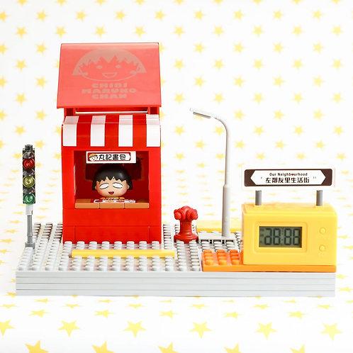 【香港限定玩具】小丸子鬧鐘 特訂版小丸子情景 Maruko Puzzle