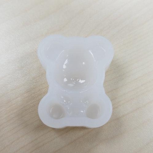 DIY Bear Mould -Accessories 熊仔高級樹脂模具 1個