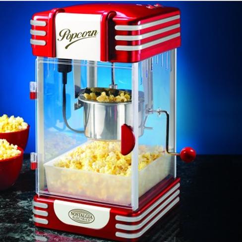 NOSTALGIA Popcorn machine Rental/Purchase 美國原廠NOSTALGIA 熱盤式爆谷機日租/採購