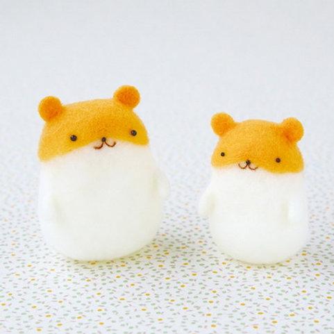 DIY- 雪豆倉鼠哈姆 (套裝包) DIY Made in Japan Punyu Mascot