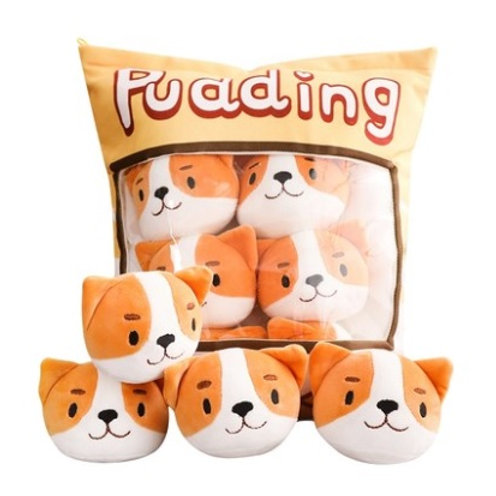 Plush Toys Claw Machine - Dog Small Size 狗仔拳頭尺寸 (10 pieces)