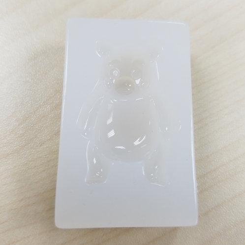 DIY Lovely Bear Mould -Accessories 坐姿仔高級樹脂模具 1個