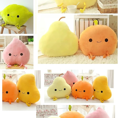 Plush Toys Claw Machine - Mr. Fruits 菓子樂園毛公仔 Cushion Size (1 piece)