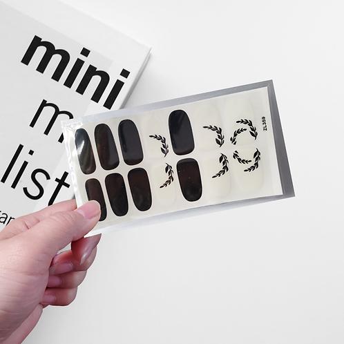 Designers' Nail Wraps - Stylish #25