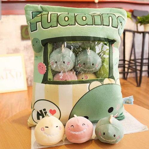 Plush Toys Claw Machine - Dragon Small Size 恐龍拳頭尺寸 (10 pieces)