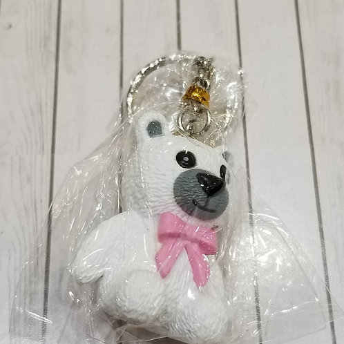 TOYS - FIGURINES Key-chain Teddy Bear 白熊仔匙扣 (1 piece)