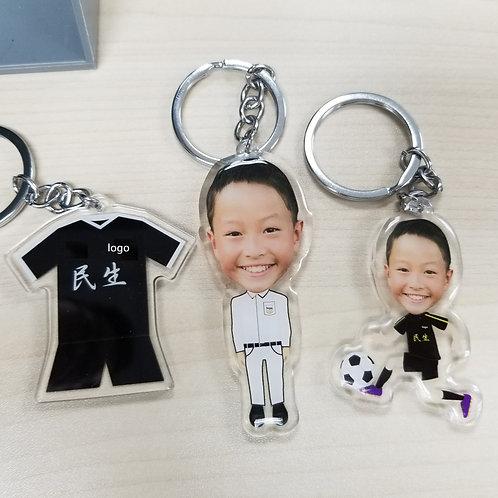 Personalized Key Chain 1 piece 訂製個人匙扣 (單個)