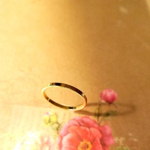 RING- Classic Flat Ring 經典貼服戒指 Fingers Play