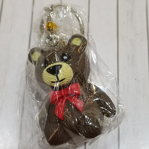 TOYS - FIGURINES Key-chain Teddy Bear 黑熊仔匙扣 (1 piece)