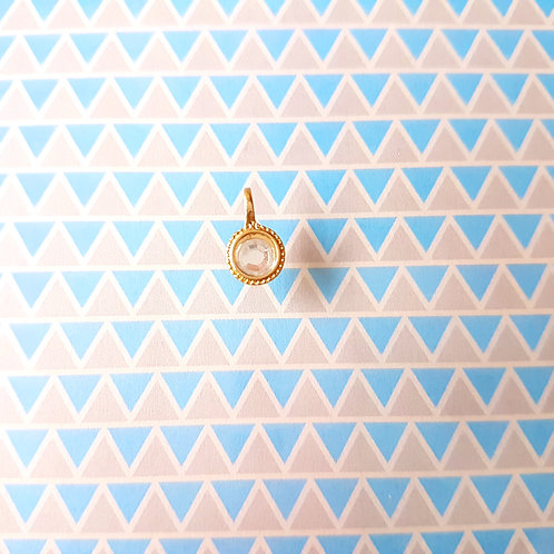 PENDANT - Charms DIY - Golden Crystal Charm 垂飾 黃金水晶