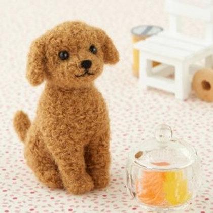 DIY- 玩具貴婦犬 (套裝包) DIY Miniature Schnauzer (Package)