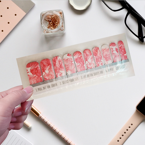 UK Designers' Nail Wraps -ThumbsUp #35