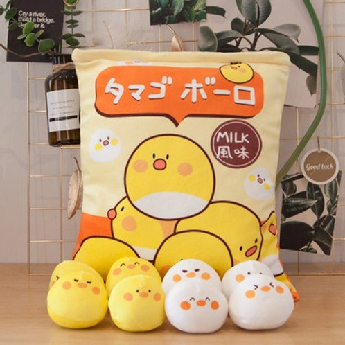 Plush Toys Claw Machine - Chicken Small Size 鷄仔拳頭尺寸 (10 pieces)