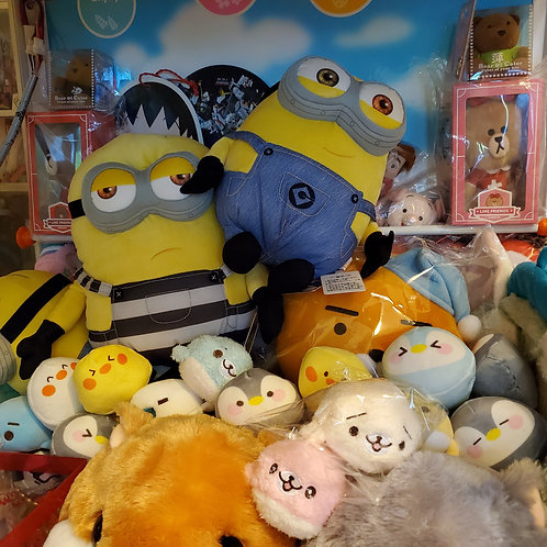 Plush Toys Claw Machine - Assorted 混裝公仔 (assorted)
