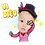 Thumbnail: Cute Series Template C1-C12 人像DIY產品素材 C1-C12 (1 piece/1 order)