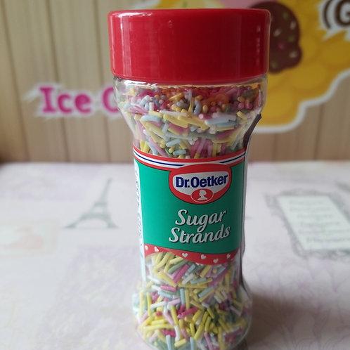Sugar Strands 脆口繽紛彩色食用朱古力碎條