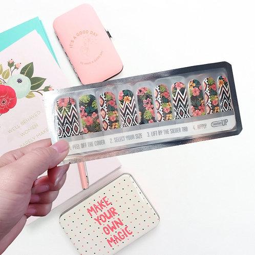 UK Designers' Nail Wraps -ThumbsUp #7