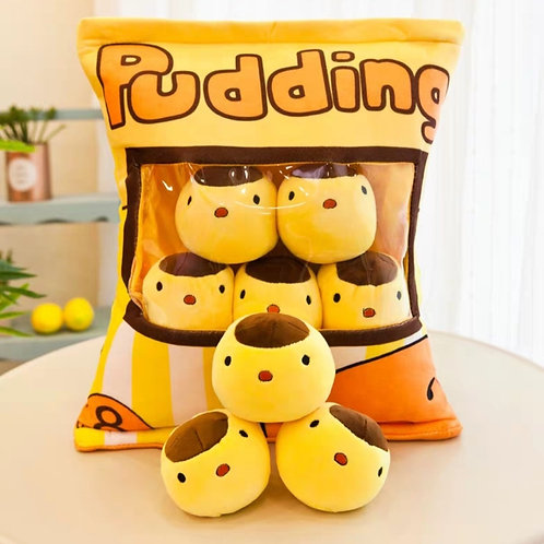 Plush Toys Claw Machine - Pudding Small Size 布丁拳頭尺寸 (10 pieces)