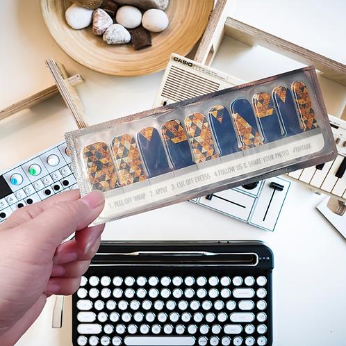 Designers' Nail Wraps -Tintark #4