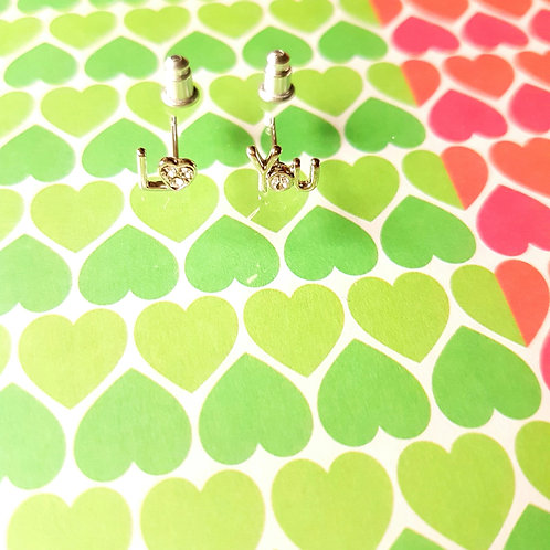 EARRINGS 耳環 Love Series-Loving u 相愛系列