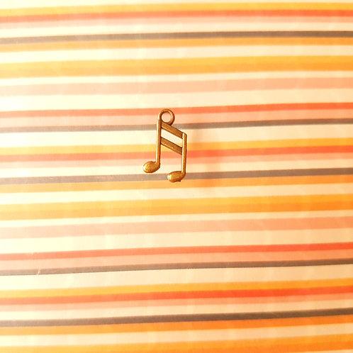 DIY Handicrafts -Antique Music Series Note DIY Pendant 古董節拍號
