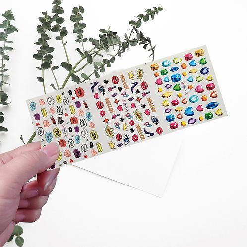 Water Decals Transfer Stickers #5 @piece
