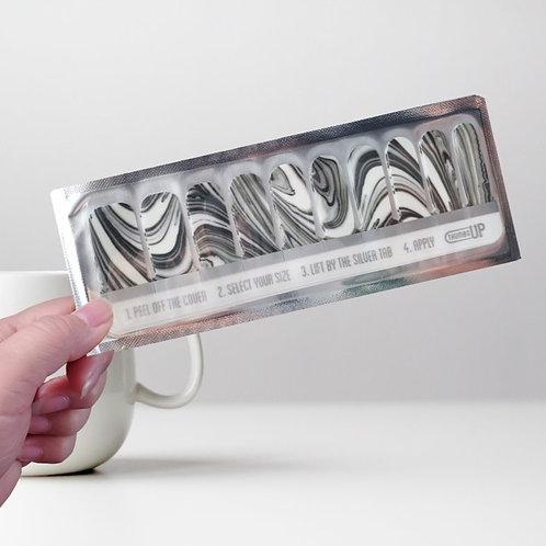 UK Designers' Nail Wraps -ThumbsUp #27