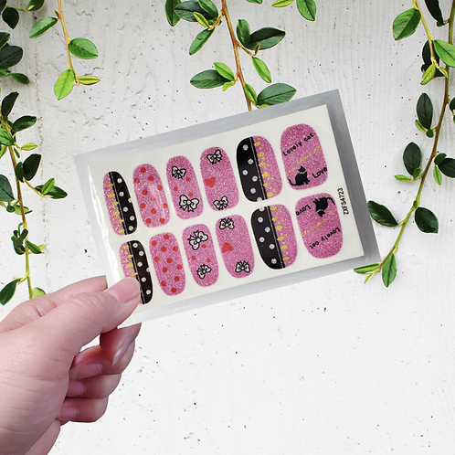Designers' Nail Wraps - Stylish #12