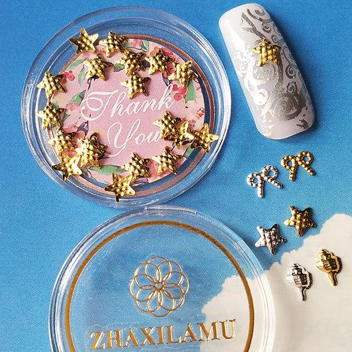 ZHAXILAMU Mandalas Jewelry Box #27 Star (1 box)