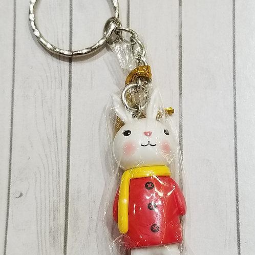 TOYS - FIGURINES Key-chain 紅衣小兔匙扣