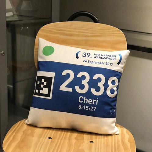 Marathon Cushion 優質高雅韓國緞雙面號碼布咕臣