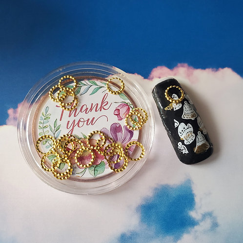 ZHAXILAMU Mandalas Jewelry Box #13 Circle L (1 box)