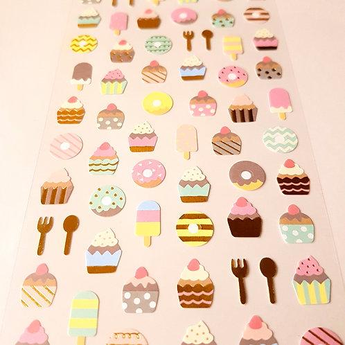 STICKERS - Ice-cream & Desserts 貼紙 美味雪糕甜點