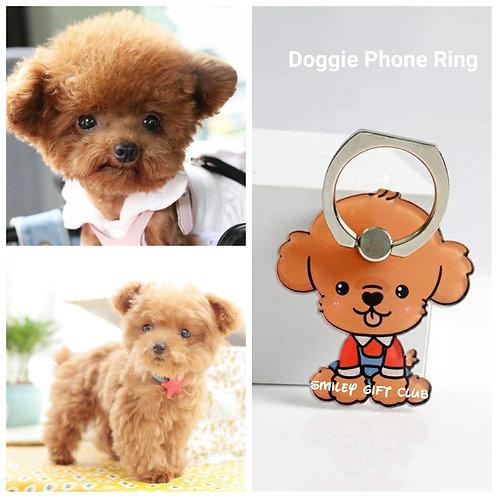 THEME - 寵物手機指環 (啡) Pets Mobile Ring Souvenirs (Brown)