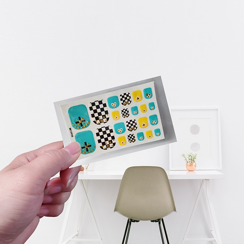 Designers' Toes Stickers - Stylish #5