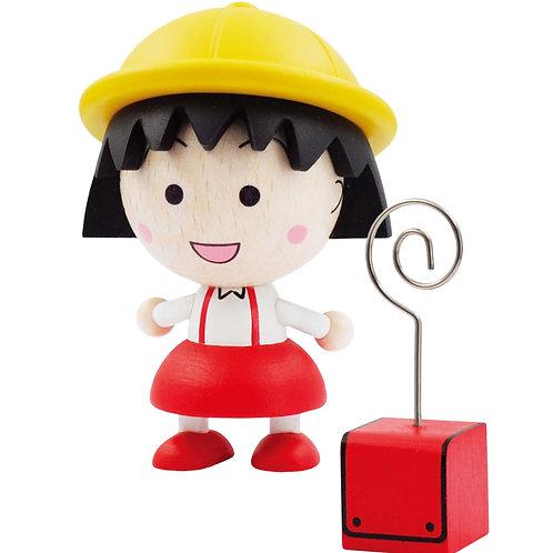 【台灣限定玩具】小丸子木頭文具大公仔童話主題 Puzzle (12件)