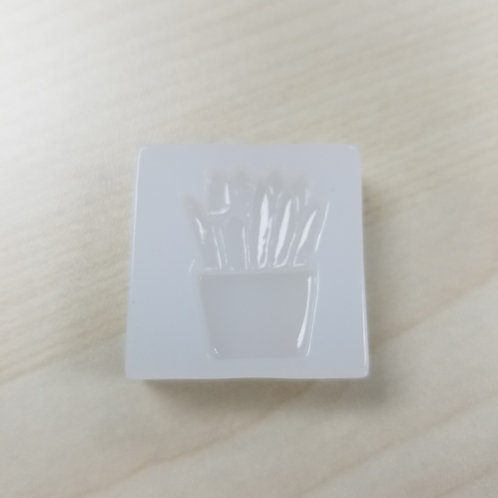 DIY French Fries Mould -Accessories 薯條高級樹脂模具 1個