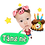 Thumbnail: Cute Series Template M1-M8 人像DIY產品素材 M1-M8 (1 piece/1 order)